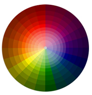 With a shades and tints color wheel it is easy to see the many different color combinations you can achieve, and just think it all started with yellow, red, and blue.