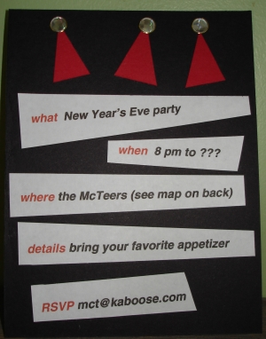 the best new year invitation cards ive seen
