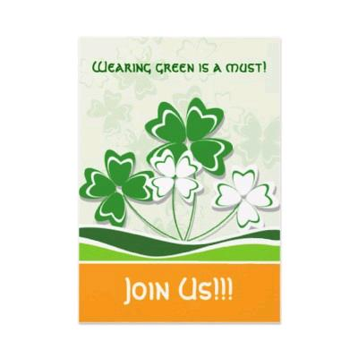 killer st patricks day party invitations