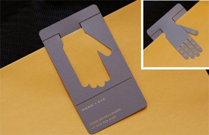 10 unconventional business card designs colourmoves
