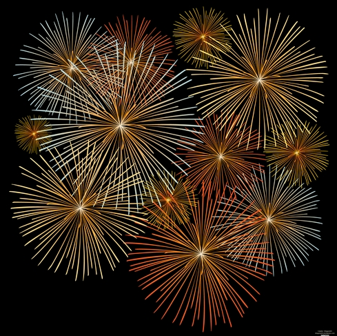 5 incredible fireworks vectors rh blog psprint com Fireworks Vector Black and White Fireworks White Background