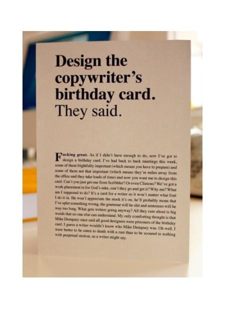 6 Silly Birthday Card Designs