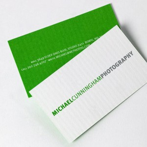 6 minimalist business card designs colourmoves