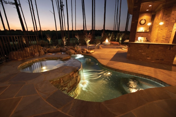Top 5 most lavishly designed swimming pools on earth for Pool design usa