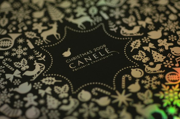 5 sweet foil stamped holiday invitations