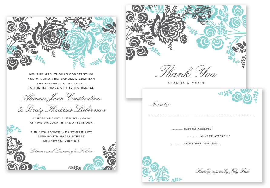 great font combinations for your wedding invitations - Wedding Invitation Fonts
