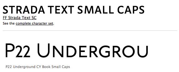 Not All Sans Serif Fonts