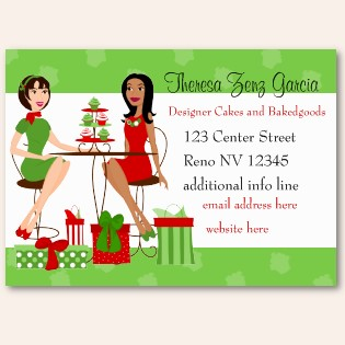 Five Awesome Christmas Themed Business Cards
