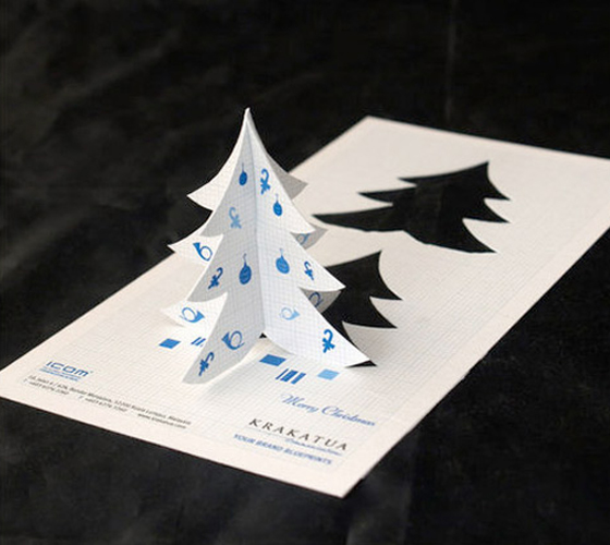 Five Awesome Christmas-Themed Business Cards