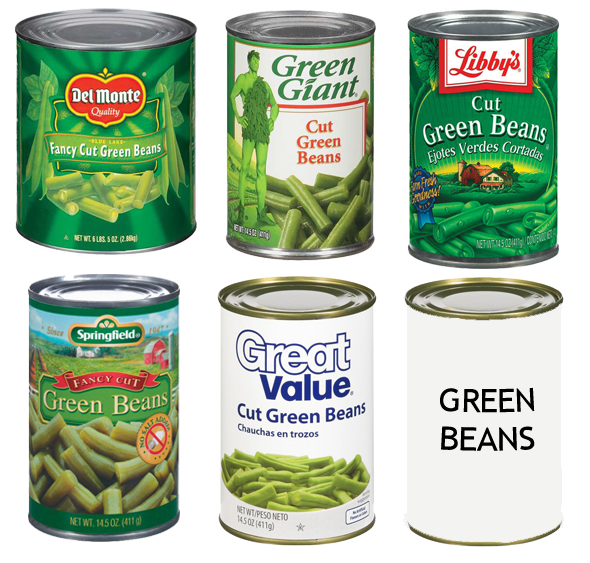 canned food labels what s the difference