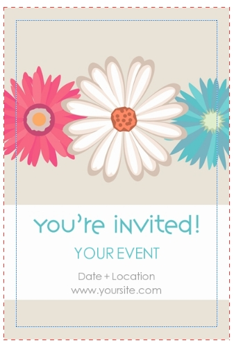 free template for invitation card