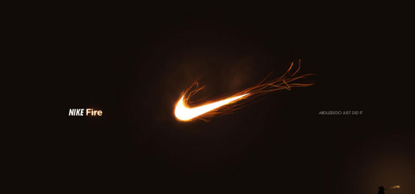 This Photoshop tutorial shows you how to make a blazing logo using the Nike logo as an ex&le. Glowing Text. This Photoshop light effect ... & 40 Intense Photoshop Light Effect Tutorials