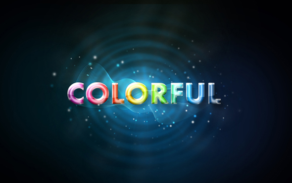 Turn Your Text Into Colorful Lights With This Fun And Cool Photoshop Lighting Effect Tutorial