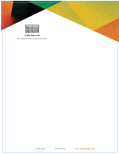 Make Your Own Letterhead Design Templates