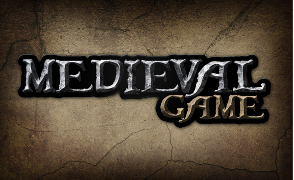 Give a medieval game logo a rough stone look psdtuts google chrome