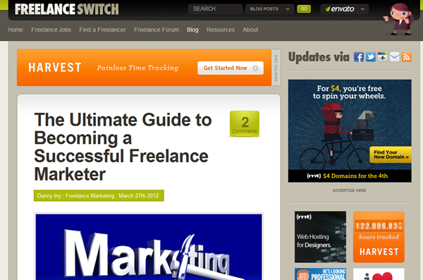 become a freelancer official site