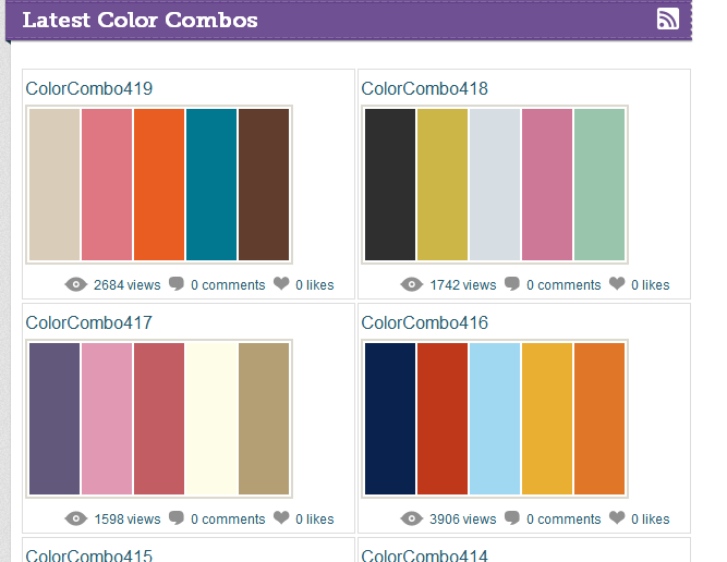 5 websites for amazing color palettes
