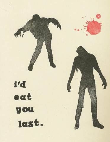 I'd Eat You Last zombie handstamped greeting card by awkwardmoment - Google Chro_2012-09-06_12-45-33