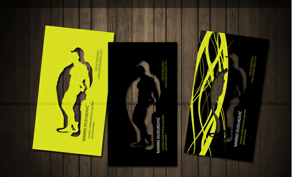 Personal trainer business card on the Behance Network - Google Chrome_2012-09-24_11-40-12