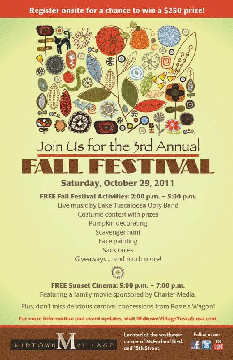 fall festival poster ideas