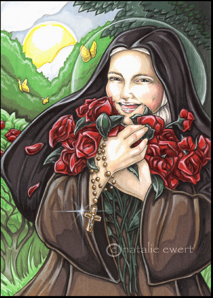 Laughing Saint Therese by ~natamon on deviantART - Google Chrome_2012-10-26_14-40-52