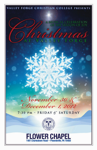 Valley Forge Christian College >> Hot Off the Press: Winter Holiday Designs