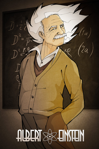 Albert Einstein by ~TheKangrejoman on deviantART - Google Chrome_2012-12-04_07-31-16