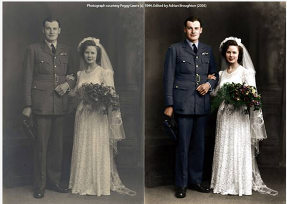 Colorizing Black And White Photos By Hand