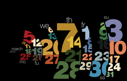Typography calendar 2013 on Behance - Google Chrome_2012-12-05_13-10-46