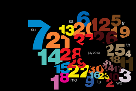 Typography calendar 2013 on Behance - Google Chrome_2012-12-05_13-11-01