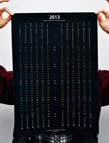awesome black Calendar 2013 on Behance - Google Chrome_2012-12-05_13-12-54