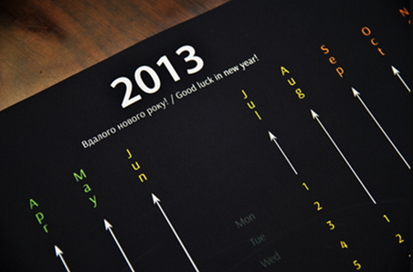 awesome black Calendar 2013 on Behance - Google Chrome_2012-12-05_13-13-06