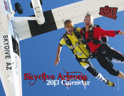 Skydive Arizona calendar