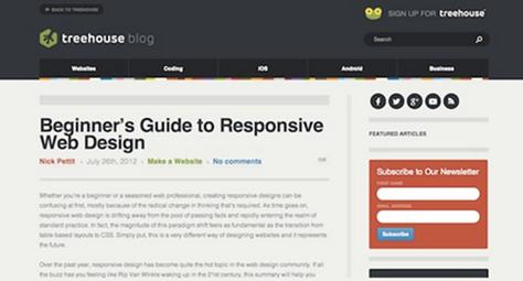 responsive designs tutorials