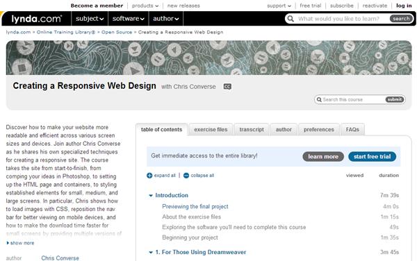 10 Responsive Web Design Tutorials
