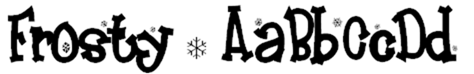 Frosty font by Font-a-licious - FontSpace - Google Chrome_2013-01-14_11-21-18