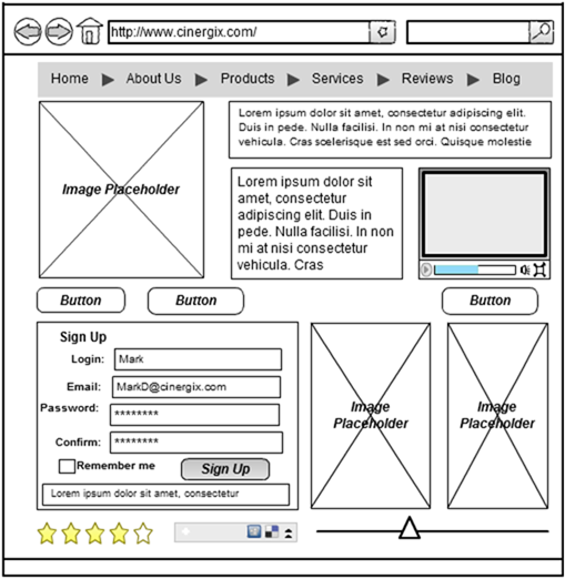 online wireframe and ui mockup tool creately google chrome_2013 01 10_13 00 - Wireframe Design Tool Online