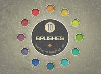 Dribbble - Speckle Brushes made of Cocoa (free download) by Maleika E. A. - Goog_2013-02-14_15-31-23