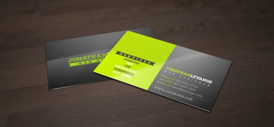 Free Corporate Black and Green Business Card Template Designers Best Friend - Go_2013-02-14_15-26-55