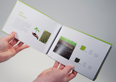 gaia brand manual book on behance google chrome_2013 02 18_15 00 - Booklet Design Ideas