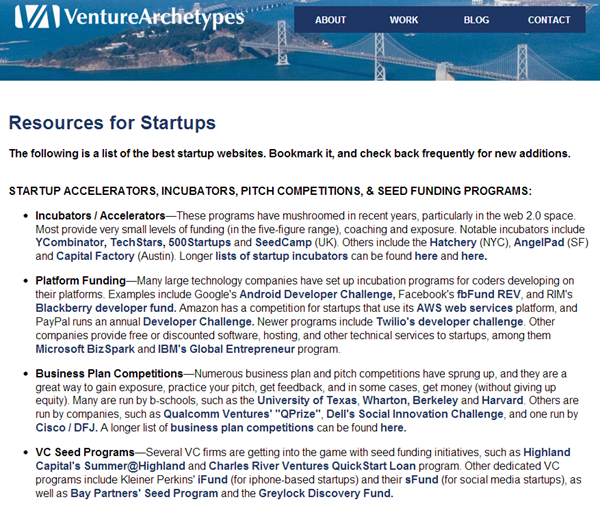List of The Best Startup Websites Incubators, Accelerators, Startup Tools, Foun_2013-02-27_09-21-00