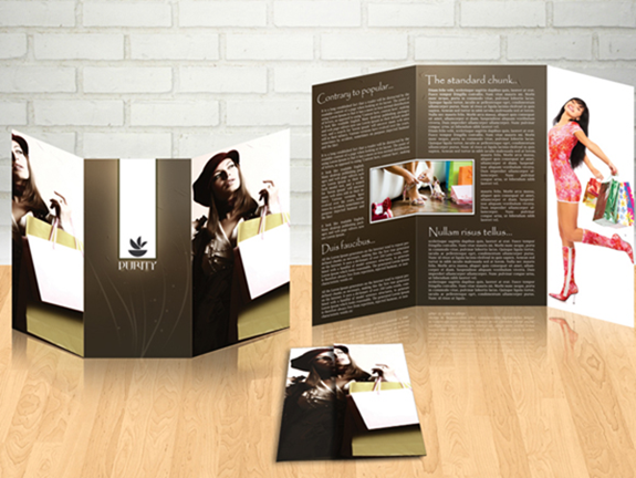10 Free Brochure Design Templates – Fashion Design Brochure Template