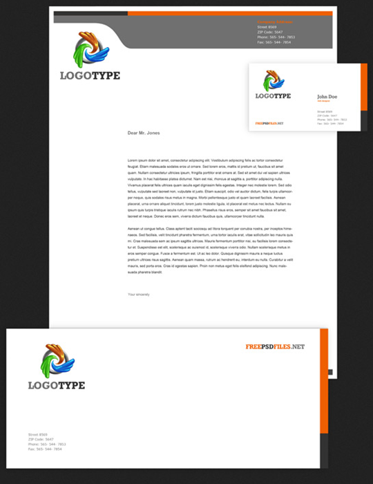 Corporate Identity PSD Pack Free PSD Files   Google Chrome_2013 03 18_08 46  Business Letterhead Template Free
