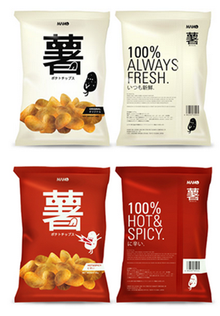 Less is More Potato Chip Package on Behance - Google Chrome_2013-03-11_12-47-33