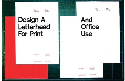 office letterhead design