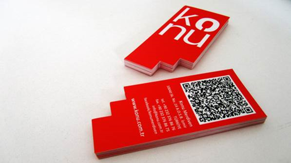 Business insight 5 business card design and printing trends konu business card design on behance google chrome2013 04 1906 15 die cut colourmoves