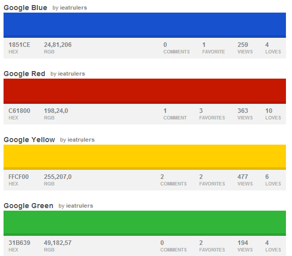 10 Awesome Brand Inspired Color Palettes