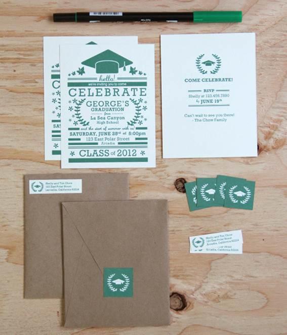 10 UltraCool Graduation Invitation Cards – Cool Invitation Cards