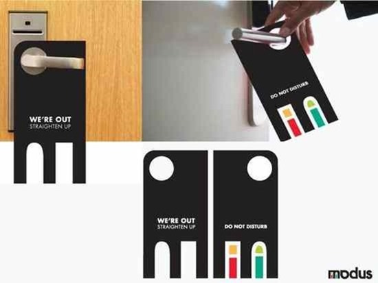 Door Hangers 30 super cool door hanger designs