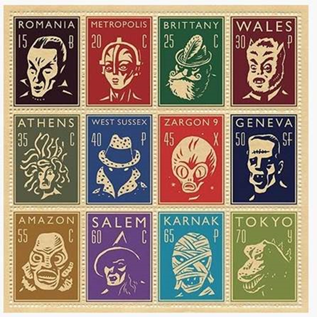 Monster Stamps by Adam McCauley at the ... Imaginary friends and … - Google _2013-09-25_14-32-48